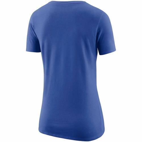 ナイキ NIKE オーランド マジック レディース ロゴ Tシャツ 青 ブルー レディースファッション トップス カットソー 【 Orlando Magic Womens Primary Logo T-shirt - Blue 】 Blue