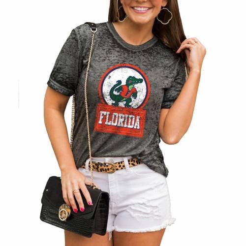 【激安セール】 ゲームデイカルチャー Tシャ GAMEDAY COUTURE フロリダ ゲイターズ レディース CHARCOAL Tシャツ チャコール GAMEDAY WOMEN'S【 GAMEDAY COUTURE BETTER THAN BASIC BOYFRIEND TSHIRT CHARCOAL】 レディースファッション トップス Tシャ, オミガワマチ:12fac2ad --- kventurepartners.sakura.ne.jp