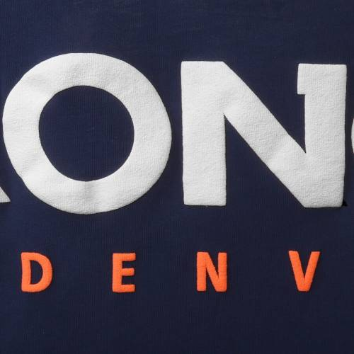 NFL PRO LINE BY FANATICS BRANDED デンバー ブロンコス レディース ジャージ ブイネック Tシャツ 紺 ネイビー レディースファッション トップス カットソー 【 Denver Broncos Womens Spirit Jersey Goal Line