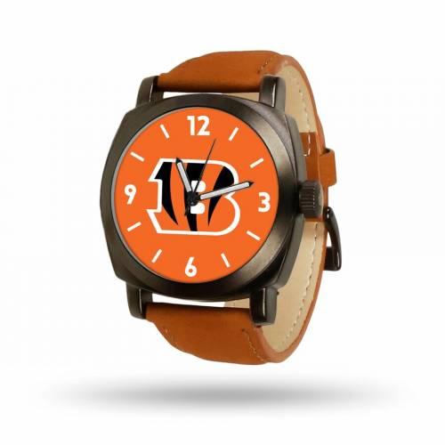 SPARO シンシナティ ベンガルズ 茶 ブラウン ストラップ ウォッチ 時計 【 BROWN WATCH SPARO CINCINNATI BENGALS STRAP COLOR 】 腕時計 メンズ腕時計
