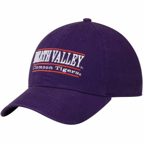 THE GAME タイガース クラシック 紫 パープル バッグ キャップ 帽子 メンズキャップ メンズ 【 Clemson Tigers Death Valley Classic Bar Unstructured Adjustable Hat - Purple 】 Purple