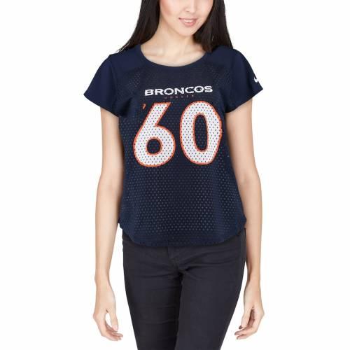 ナイキ NIKE デンバー ブロンコス レディース モダン Tシャツ 紺 ネイビー レディースファッション トップス カットソー 【 Denver Broncos Womens Modern Fan T-shirt - Navy 】 Navy