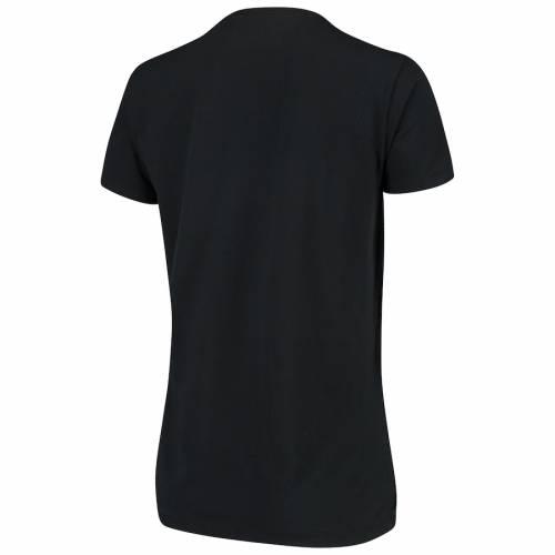 LEVELWEAR レディース Tシャツ 黒 ブラック レディースファッション トップス カットソー 【 Juventus Womens Daily Midfield T-shirt - Black 】 Black