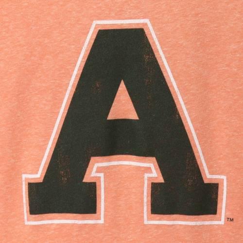 ORIGINAL RETRO BRAND コロラド スケートボード ラムズ レディース Tシャツ 橙 オレンジ レディースファッション トップス カットソー 【 Colorado State Rams Womens Tri-blend T-shirt - Heathered Orange 】 Hea
