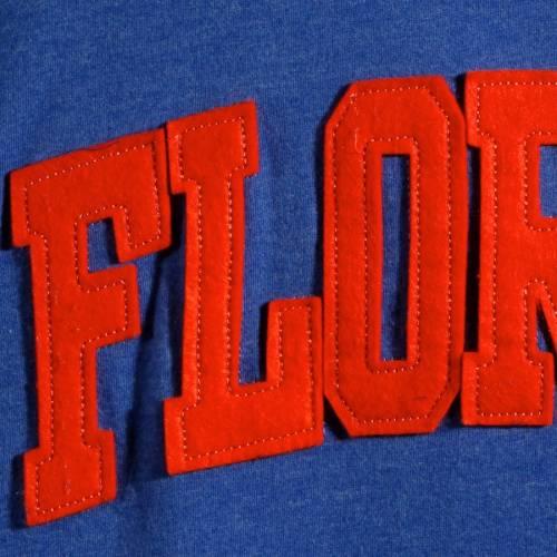 PRESSBOX フロリダ レディース スリーブ Tシャツ レディースファッション トップス カットソー 【 Florida Gators Womens Plus Size Two-hit Canyon Long Sleeve T-shirt - Royal 】 Royal