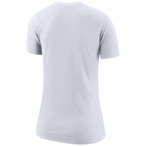 ナイキ NIKE ドジャース レディース ロゴ パフォーマンス Tシャツ 白 ホワイト レディースファッション トップス カットソー 【 Los Angeles Dodgers Womens Logo Dry Performance T-shirt - White 】 White