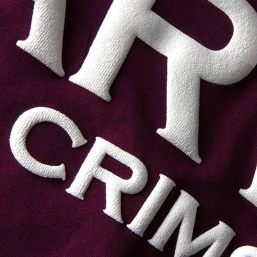 SPIRIT JERSEY ハーバード レディース Tシャツ レディースファッション トップス カットソー 【 Harvard Crimson Womens Oversized T-shirt - Crimson 】 Crimson