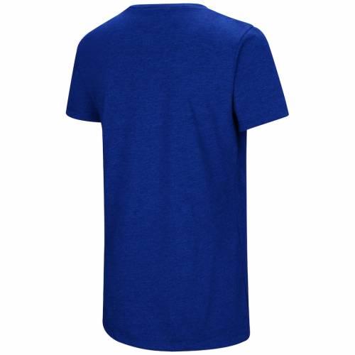 アンダーアーマー UNDER ARMOUR ドジャース レディース チーム Tシャツ レディースファッション トップス カットソー 【 Los Angeles Dodgers Womens Team Lock-up Tri-blend T-shirt - Royal 】 Royal