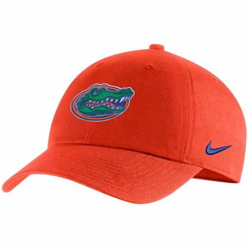 ナイキ NIKE フロリダ パフォーマンス バッグ キャップ 帽子 メンズキャップ メンズ 【 Florida Gators Heritage 86 Adjustable Performance Hat - Royal 】 Orange