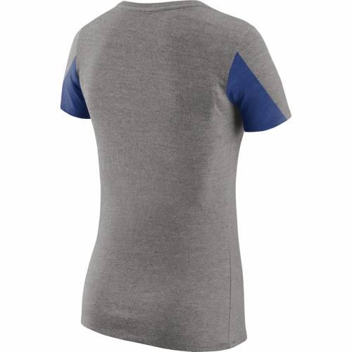 ナイキ NIKE ジャイアンツ レディース Tシャツ 灰色 グレー グレイ レディースファッション トップス カットソー 【 New York Giants Womens Champ Drive 2 Tri-blend T-shirt - Heathered Gray 】 Heathered Gray