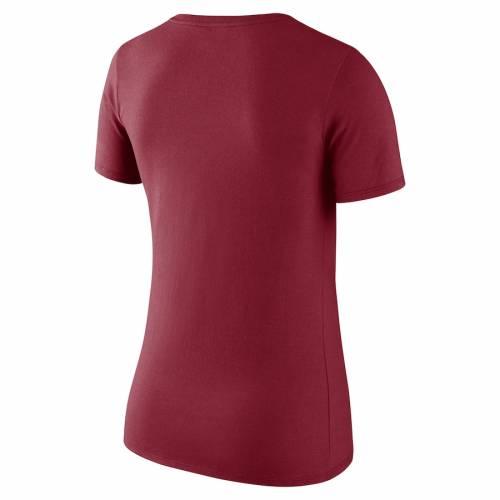 ナイキ NIKE シンシナティ レッズ レディース ロゴ Tシャツ 赤 レッド レディースファッション トップス カットソー 【 Cincinnati Reds Womens Logo Scoop Neck T-shirt - Red 】 Red