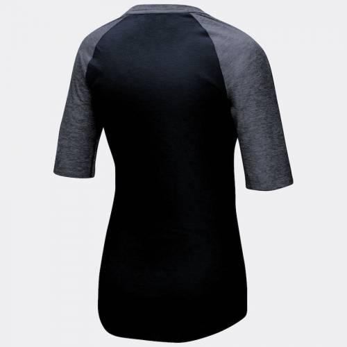 マジェスティック MAJESTIC マジェスティック バッファロー ビルズ レディース ハイライト ハーフ スリーブ ラグラン Tシャツ 黒 ブラック WOMEN'S 【 SLEEVE RAGLAN BLACK MAJESTIC BUFFALO BILLS HIGHLIGHT