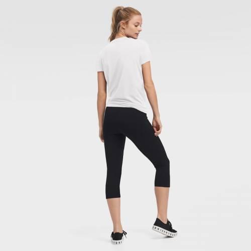 DKNY SPORT レイカーズ レディース Tシャツ 白 ホワイト レディースファッション トップス カットソー 【 Los Angeles Lakers Womens Side-tie Players Tri-blend T-shirt - White 】 White
