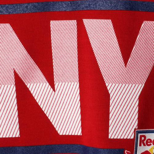 アディダス ADIDAS 赤 レッド ブルズ レディース ブイネック Tシャツ レディースファッション トップス カットソー 【 New York Red Bulls Womens Dassler Pattern V-neck T-shirt - Red 】 Red