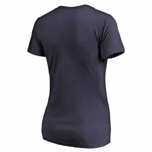 NFL PRO LINE BY FANATICS BRANDED チャージャーズ レディース ブイネック Tシャツ 紺 ネイビー レディースファッション トップス カットソー 【 Joey Bosa Los Angeles Chargers Womens Vamos V-neck T-shirt - Navy