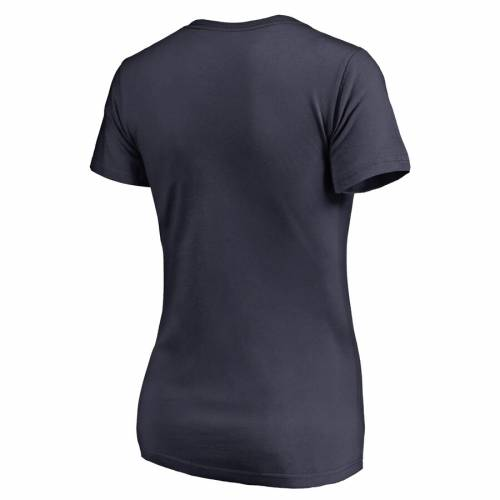 NFL PRO LINE BY FANATICS BRANDED チャージャーズ レディース ブイネック Tシャツ 紺 ネイビー レディースファッション トップス カットソー 【 Los Angeles Chargers Womens Freehand V-neck T-shirt - Navy 】 Nav