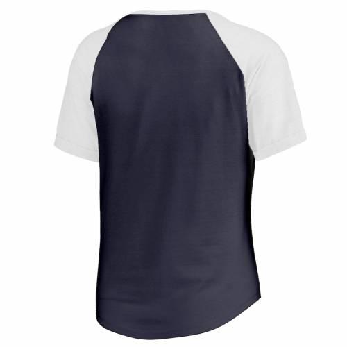 NFL PRO LINE BY FANATICS BRANDED チャージャーズ レディース コレクション ファスト Tシャツ 紺 ネイビー レディースファッション トップス カットソー 【 Los Angeles Chargers Womens Throwback Collection F
