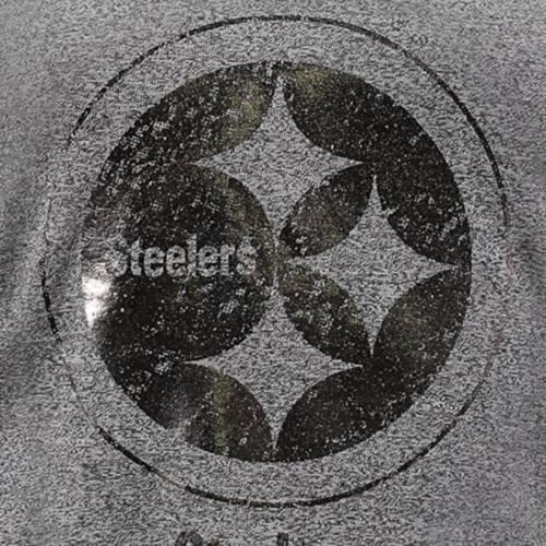マジェスティック MAJESTIC ピッツバーグ スティーラーズ レディース ブイネック Tシャツ 黒 ブラック レディースファッション トップス カットソー 【 Pittsburgh Steelers Womens Bright Lights V-nec
