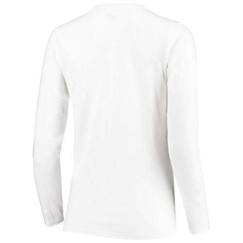 TITANIA GOLF ゴルフ レディース スリーブ Tシャツ 白 ホワイト WOMEN'SGOLF SLEEVE WHITE TITANIA 2019 SOLHEIM CUP LONG TSHIRTレディースファッション トップス Tシャツ カットソーthsxQCrd