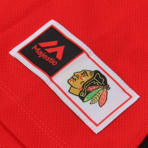 マジェスティック MAJESTIC シカゴ レディース Tシャツ 赤 レッド レディースファッション トップス カットソー 【 Chicago Blackhawks Womens Ready To Win Shimmer T-shirt - Red 】 Red