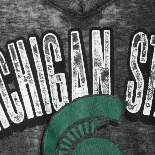 5TH & OCEAN BY NEW ERA ミシガン スケートボード レディース ジャージ ブイネック Tシャツ 黒 ブラック レディースファッション トップス カットソー 【 Michigan State Spartans 5th And Ocean By New Er