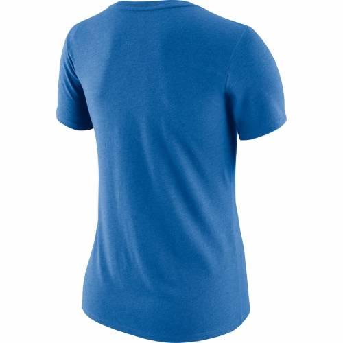 ナイキ NIKE デトロイト ライオンズ レディース サイドライン ブイネック Tシャツ 青 ブルー レディースファッション トップス カットソー 【 Detroit Lions Womens Sideline V-neck T-shirt - Blue 】 Bl
