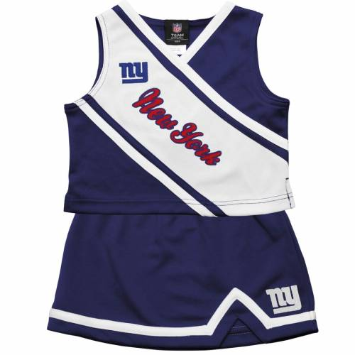OUTERSTUFF ジャイアンツ 男の子 女の子 子供用 青 ブルー キッズ ベビー マタニティ ジュニア 【 New York Giants Preschool Girls 2-piece Cheerleader Set - Royal Blue 】 Royal Blue