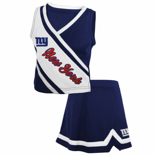 OUTERSTUFF ジャイアンツ ベビー 赤ちゃん用 赤ちゃん 幼児 キッズ マタニティ ジュニア 【 New York Giants Girls Toddler 2-piece Cheerleader Set - Royal 】 Royal