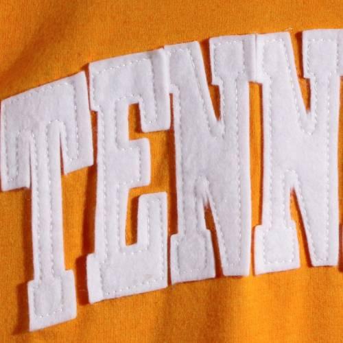 PRESSBOX テネシー レディース スリーブ Tシャツ 橙 オレンジ レディースファッション トップス カットソー 【 Tennessee Volunteers Womens Two-hit Canyon Long Sleeve T-shirt - Tennessee Orange 】 Tennessee Orange