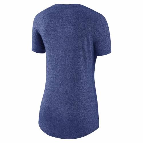 ナイキ NIKE シカゴ カブス レディース Tシャツ 1.7 レディースファッション トップス カットソー 【 Chicago Cubs Womens Marled Boyfriend 1.7 T-shirt - Heathered Royal 】 Heathered Royal