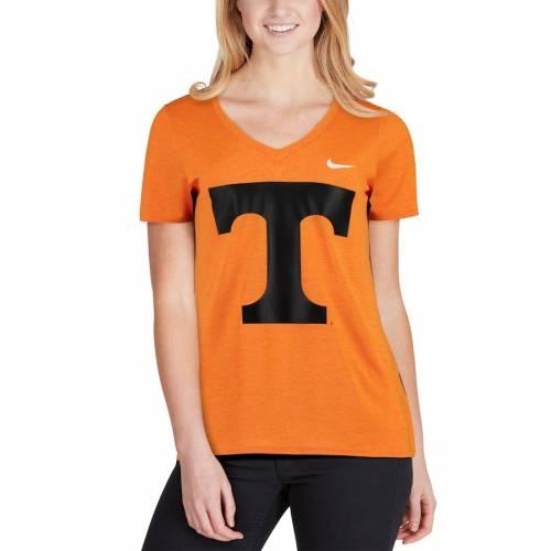 ナイキ NIKE テネシー レディース タッチ パフォーマンス ブイネック Tシャツ 橙 オレンジ レディースファッション トップス カットソー 【 Tennessee Volunteers Womens Touch Performance V-neck T-shirt