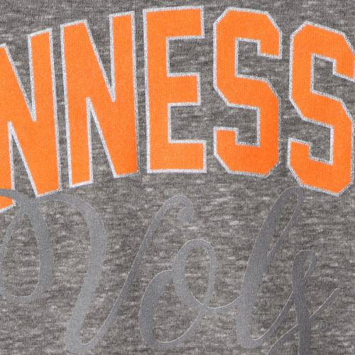 GAMEDAY COUTURE テネシー レディース ラグラン Tシャツ 灰色 グレー グレイ レディースファッション トップス カットソー 【 Tennessee Volunteers Womens Out N About Tie Tri-blend Raglan 3/4-sleeve T-shirt - Gray