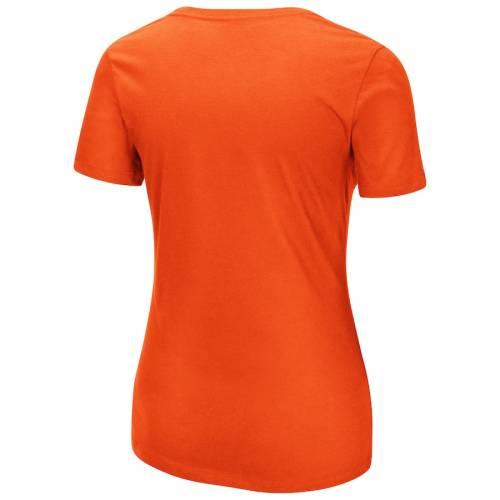 マジェスティック MAJESTIC シカゴ ベアーズ レディース フリー Tシャツ 橙 オレンジ レディースファッション トップス カットソー 【 Chicago Bears Womens Showtime Break Free T-shirt - Orange 】 Orange
