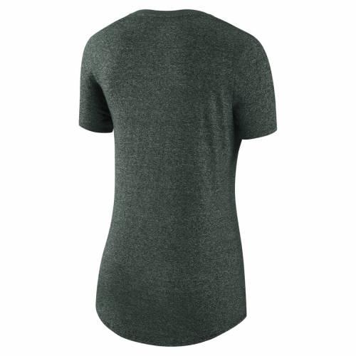ナイキ NIKE オークランド レディース Tシャツ 緑 グリーン 1.7 レディースファッション トップス カットソー 【 Oakland Athletics Womens Marled Boyfriend 1.7 T-shirt - Heathered Green 】 Heathered Green