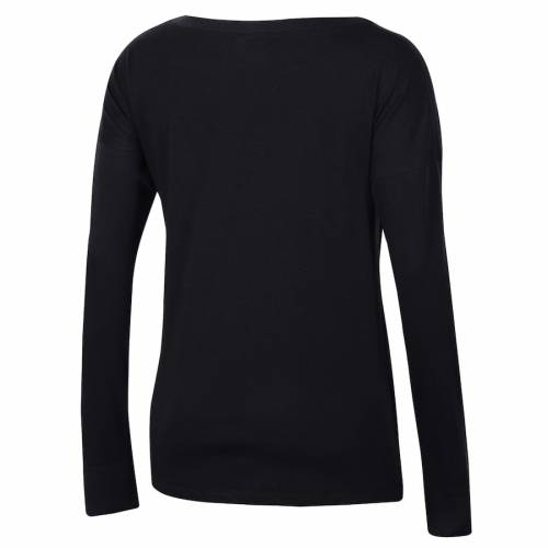 アンダーアーマー UNDER ARMOUR レディース ロゴ パフォーマンス スリーブ Tシャツ 黒 ブラック レディースファッション トップス カットソー 【 Northwestern Wildcats Womens Logo Performance Long Sleeve