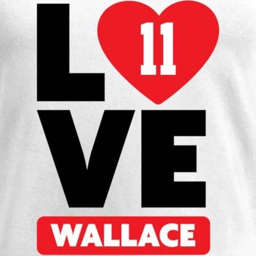 NFL PRO LINE BY FANATICS BRANDED レディース ブイネック Tシャツ 白 ホワイト レディースファッション トップス カットソー 【 Burnell Wallace Fanatics Branded Womens I Heart V-neck T-shirt - White 】 White