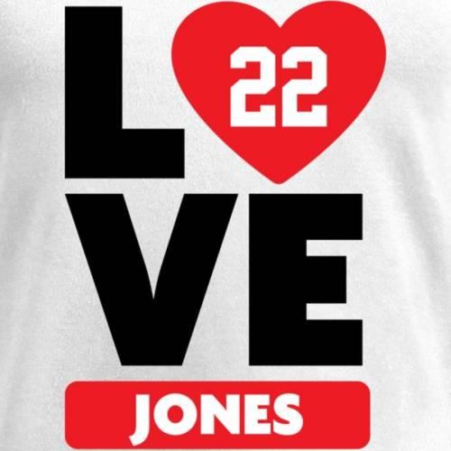 NFL PRO LINE BY FANATICS BRANDED レディース ブイネック Tシャツ 白 ホワイト レディースファッション トップス カットソー 【 Taiwan Jones Fanatics Branded Womens I Heart V-neck T-shirt - White 】 White