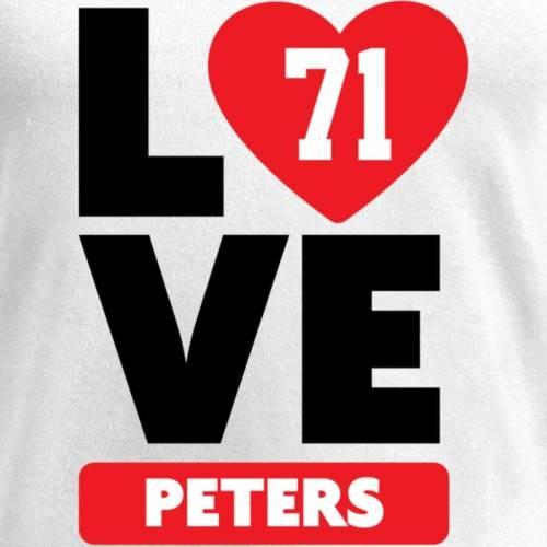 NFL PRO LINE BY FANATICS BRANDED レディース ブイネック Tシャツ 白 ホワイト レディースファッション トップス カットソー 【 Jason Peters Fanatics Branded Womens I Heart V-neck T-shirt - White 】 White