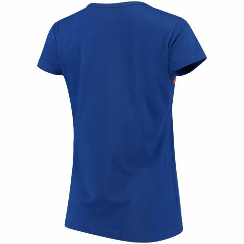 G-III 4HER BY CARL BANKS メッツ レディース Tシャツ レディースファッション トップス カットソー 【 New York Mets Womens Endzone Fashion T-shirt - Royal 】 Royal