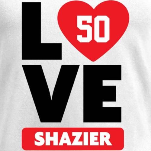 NFL PRO LINE BY FANATICS BRANDED レディース ブイネック Tシャツ 白 ホワイト レディースファッション トップス カットソー 【 Ryan Shazier Fanatics Branded Womens I Heart V-neck T-shirt - White 】 White