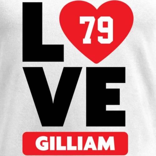 NFL PRO LINE BY FANATICS BRANDED レディース ブイネック Tシャツ 白 ホワイト レディースファッション トップス カットソー 【 Garry Gilliam Fanatics Branded Womens I Heart V-neck T-shirt - White 】 White