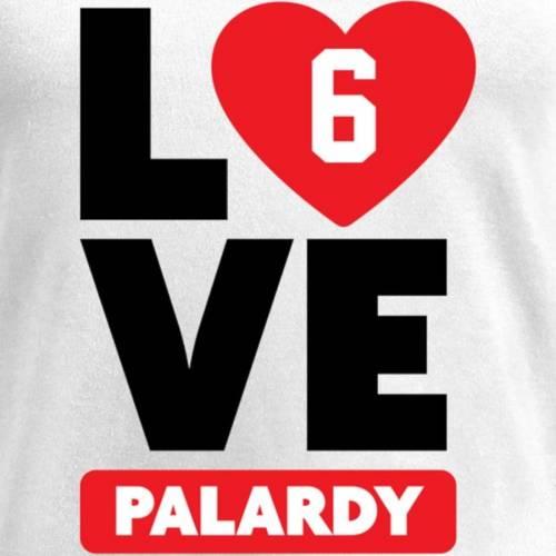 NFL PRO LINE BY FANATICS BRANDED レディース ブイネック Tシャツ 白 ホワイト レディースファッション トップス カットソー 【 Michael Palardy Fanatics Branded Womens I Heart V-neck T-shirt - White 】 White