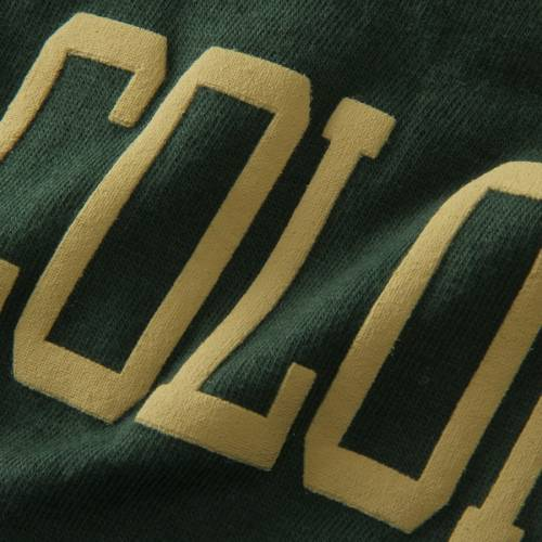 PRESSBOX コロラド スケートボード ラムズ レディース スリーブ Tシャツ 緑 グリーン レディースファッション トップス カットソー 【 Colorado State Rams Womens The Big Shirt Oversized Long Sleeve T-shirt