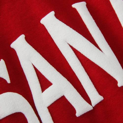 SPIRIT JERSEY スケートボード レディース Tシャツ 赤 レッド レディースファッション トップス カットソー 【 San Diego State Aztecs Womens Oversized T-shirt - Red 】 Red
