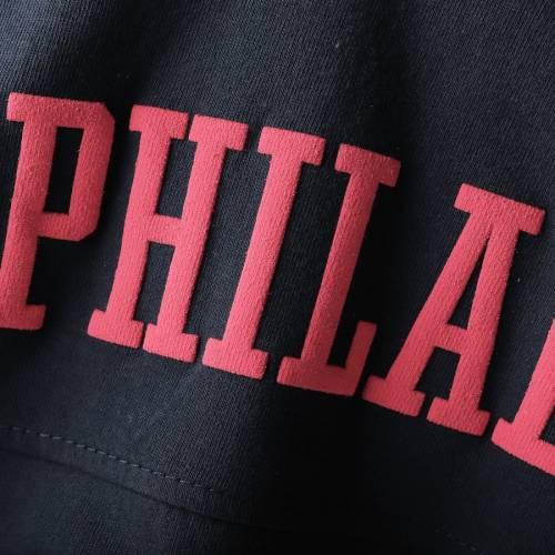 G-III SPORTS BY CARL BANKS フィラデルフィア セブンティシクサーズ レディース スリーブ Tシャツ 紺 ネイビー レディースファッション トップス カットソー 【 Philadelphia 76ers Womens Pressbox Oversi