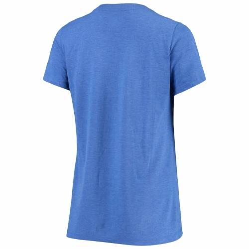 ナイキ NIKE フロリダ レディース ブイネック Tシャツ レディースファッション トップス カットソー 【 Florida Gators Womens Retro Pack Tri-blend V-neck T-shirt - Royal 】 Royal
