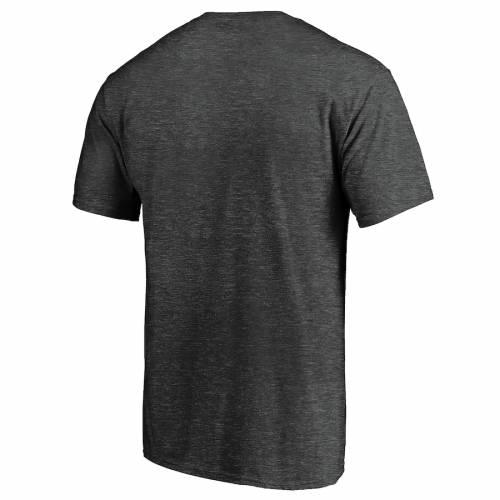 マジェスティック MAJESTIC シカゴ ベアーズ Tシャツ チャコール メンズファッション トップス カットソー メンズ 【 Chicago Bears Showtime Plaque T-shirt - Heathered Charcoal 】 Heathered Charcoal