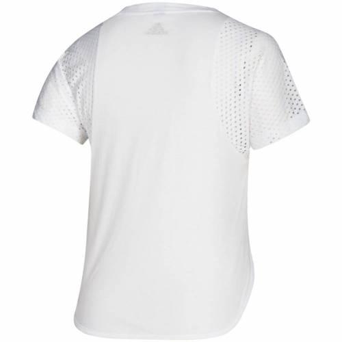 アディダス ADIDAS レンジャーズ レディース スタジアム フランチャイズ Tシャツ 白 ホワイト レディースファッション トップス カットソー 【 New York Rangers Womens Stadium Id Franchise T-shirt - Wh