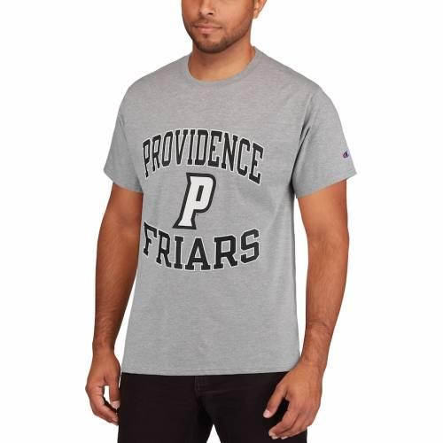チャンピオン CHAMPION プロビデンス Tシャツ 灰色 グレー グレイ メンズファッション トップス カットソー メンズ 【 Providence Friars Tradition T-shirt - Gray 】 Gray