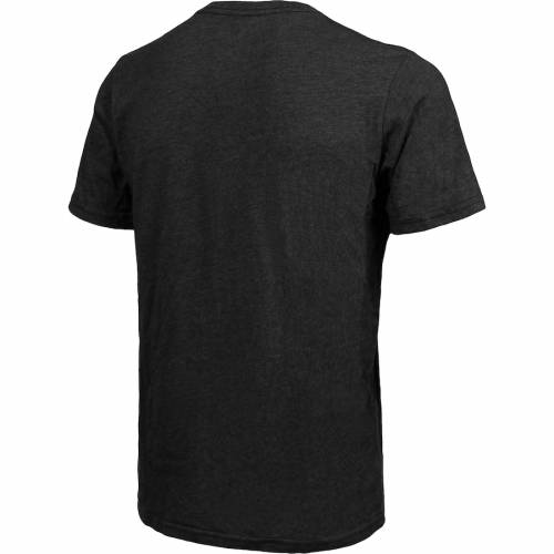 MAJESTIC THREADS セインツ グラフィック Tシャツ 黒 ブラック メンズファッション トップス カットソー メンズ 【 Michael Thomas New Orleans Saints Tri-blend Player Graphic T-shirt - Black 】 Black